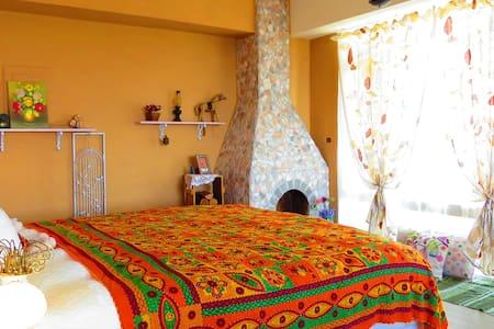 神秘莊園 南法風情 獨享山海美景的雙人套房,悠閒輕甜的旅行最美記憶點! - Daire