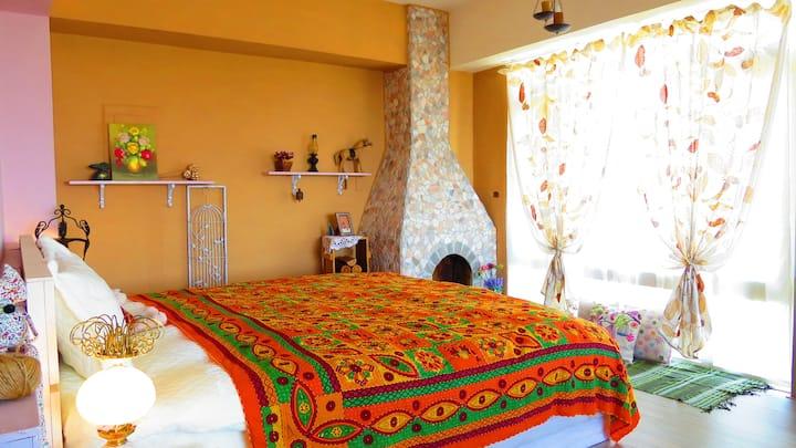 神秘莊園 南法風情 獨享山海美景的雙人套房,五星評價旅行最美記憶點