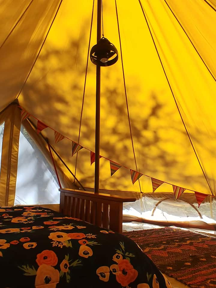 Woodland Oasis Lady Slipper Bell Tent