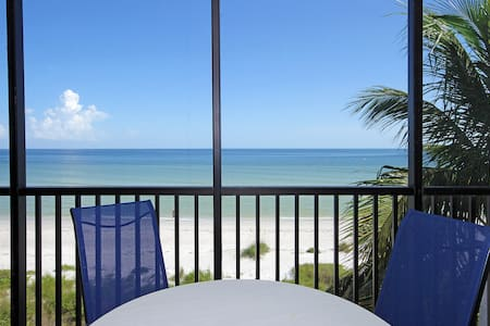 Direct Beachfront 2BR+Den W/ 2Bikes Sundial K405 - 萨尼贝尔(Sanibel)