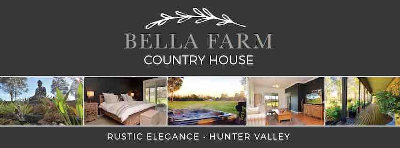 Bella Farm Country House with Outdoor Spa.