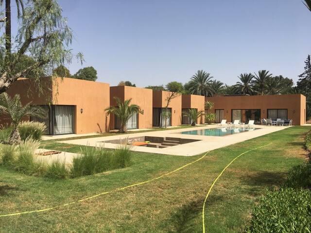 Villa standing a la palmeraie