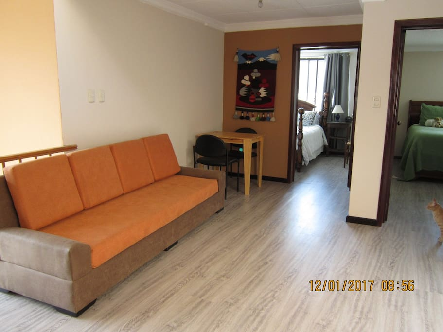 Guests living area