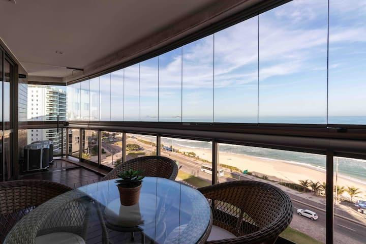 Apartamento de luxo  frente Mar Luxury beachfront