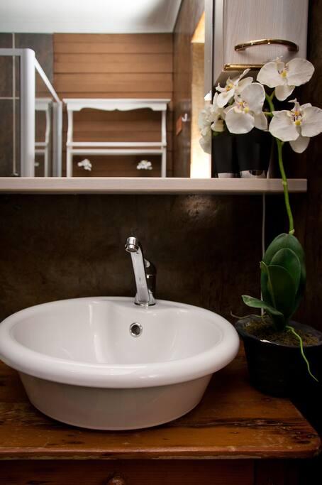 Privates Bad mit Dusche