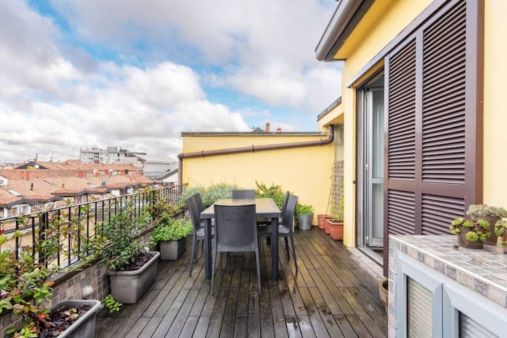 ✦Relax on the Terrace: great view in Navigli area✦