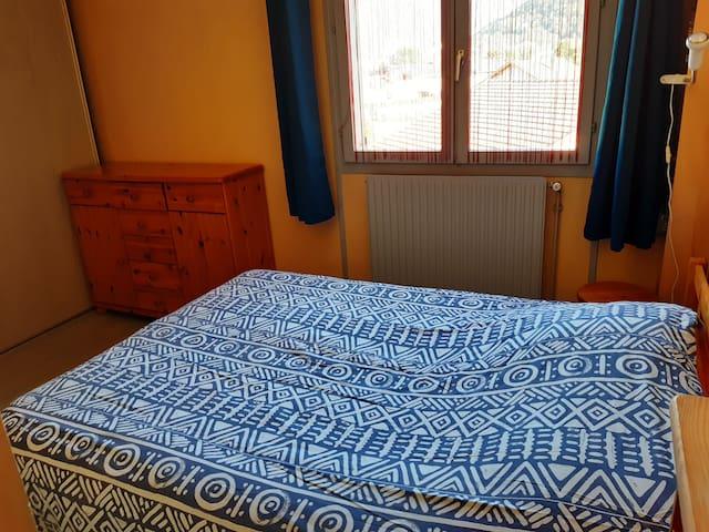 chambre dans un appartement en résidence