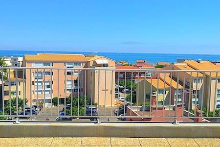 Superbe 55m² Tout confort à 2 min à pied la plage - Narbonne - Apartamento