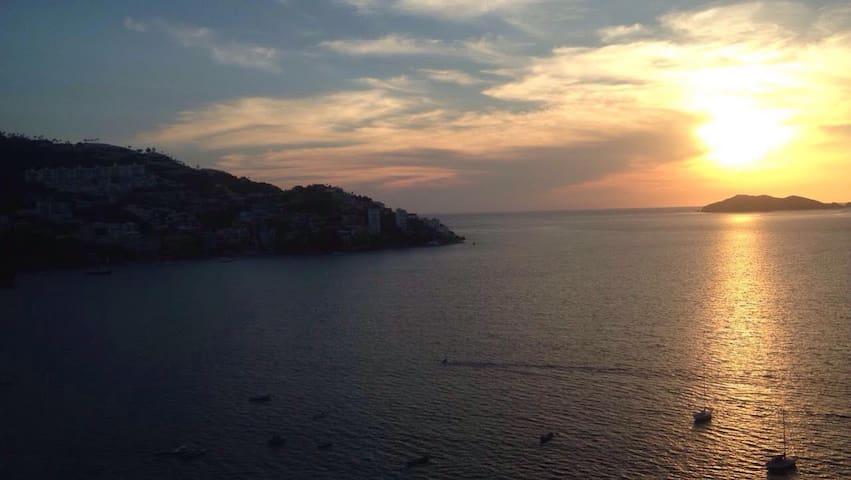 Increíble departamento en la mejor bahía - Acapulco - Wohnung