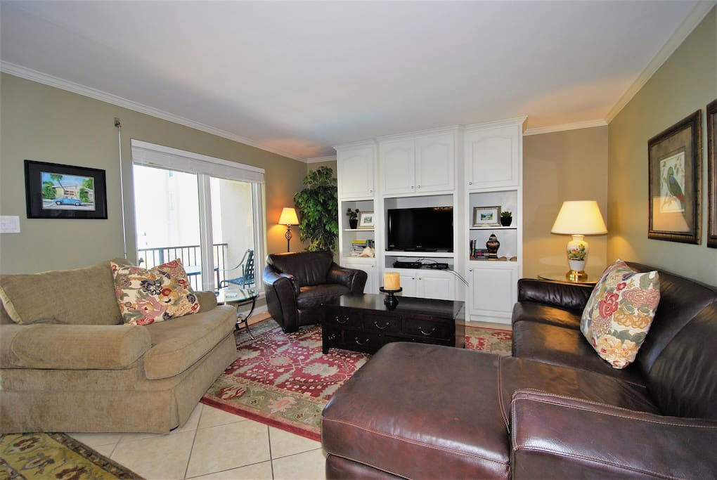 Living room with comfortable seating for all