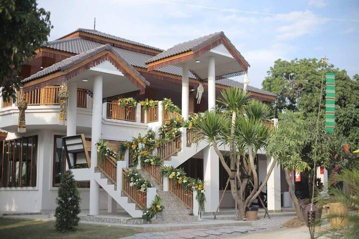 Relaxing resort in the nature of northern Thailand