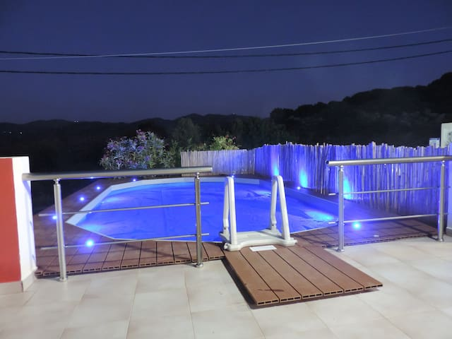 Detached Villa & Pool - Milatos