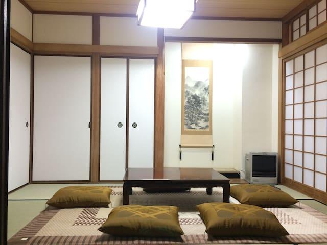 住進每天只出租一間的雙人和室 等於擁有一整個溫暖的家 - Wakayama - Dům