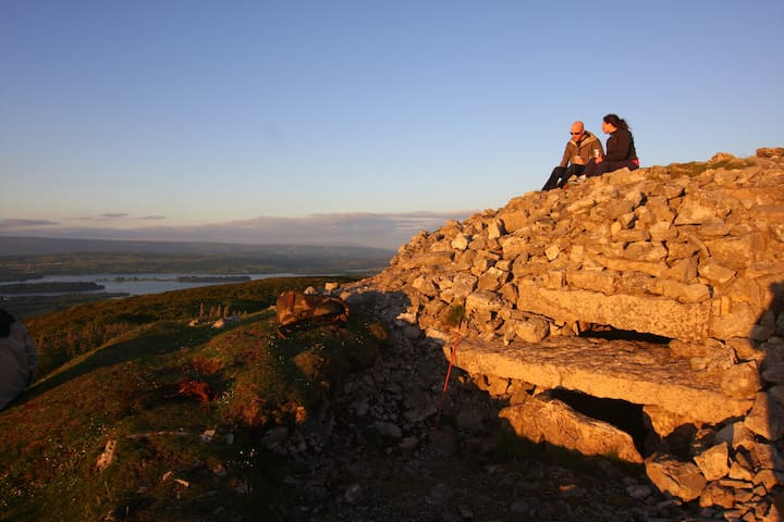 Summer Solstice at Carrowkeel megalithic tombs