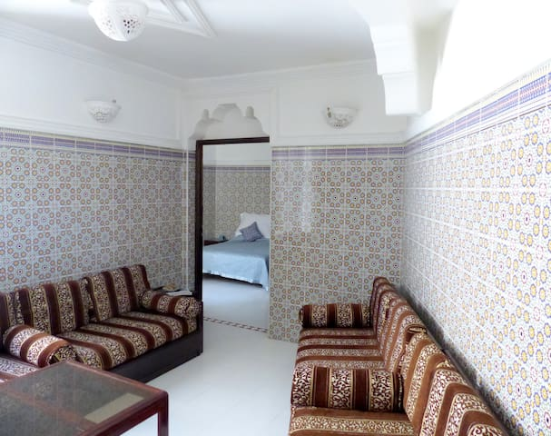 Grand appartement en médina - Marrakesh - Departamento