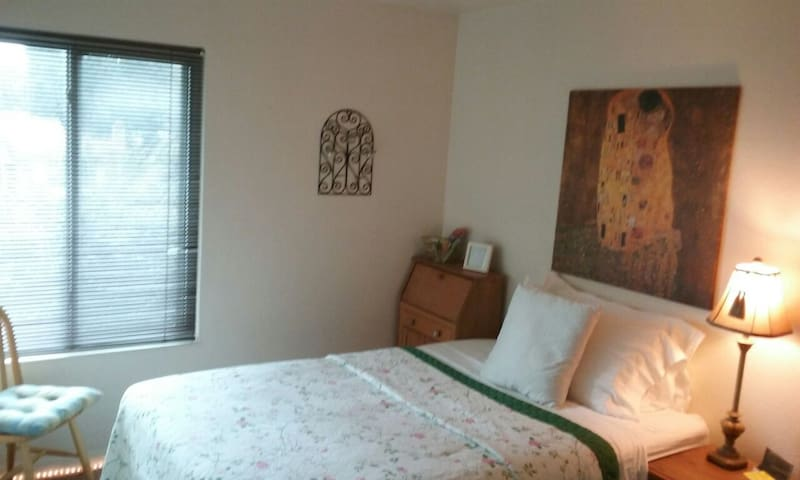 Large Room in Quiet Home near River and Downtown