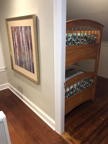 2nd Bedroom with bunk beds