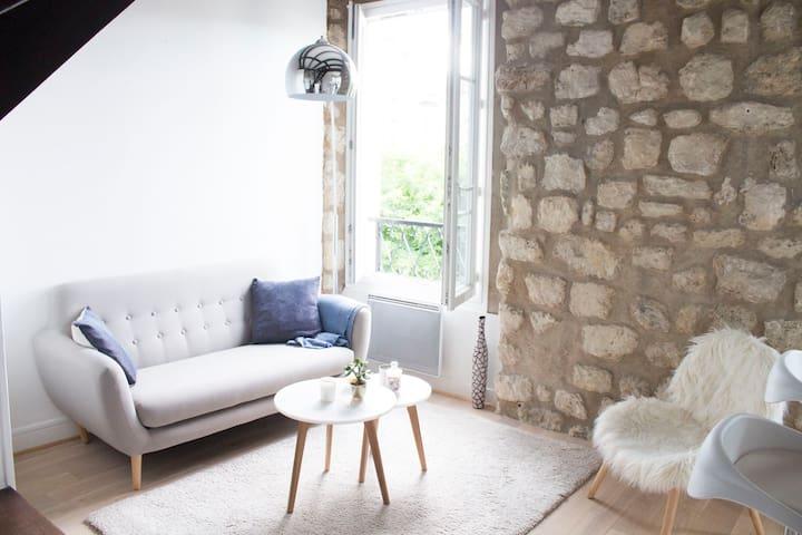 Cosy apartment close to the Batignolles