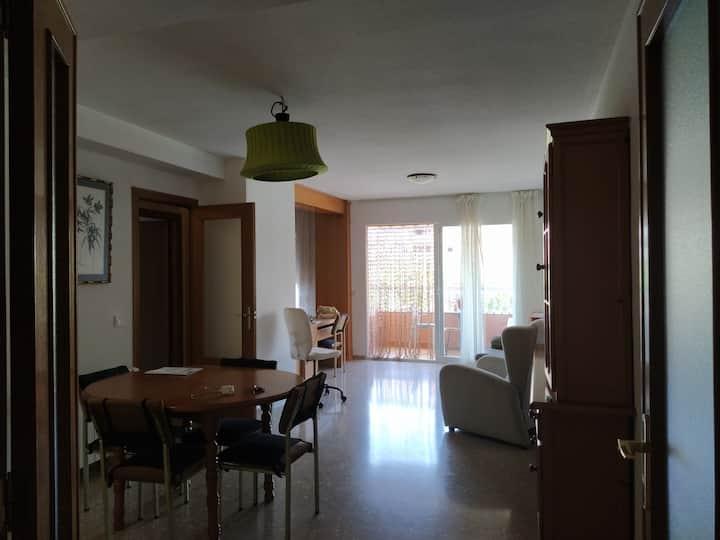 Apartamento familiar en playa Patacona (Valencia)