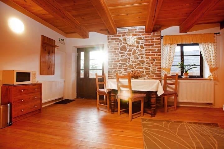 Apartmány na venkově u Krumlova - Měsíčkový - Kájov - House