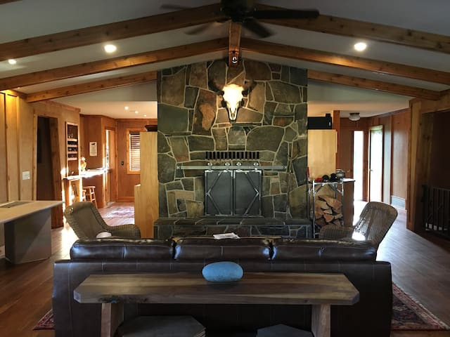 Private Ranch near Glacier Park & Whitefish Skiing