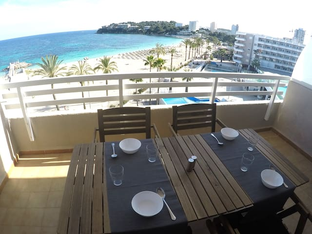 Beautiful apartment with seeview Calvia Mallorca - Calvià - Feriehjem