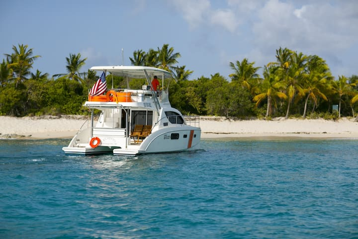 Sample Life on the Water - Cruz Bay - Boat
