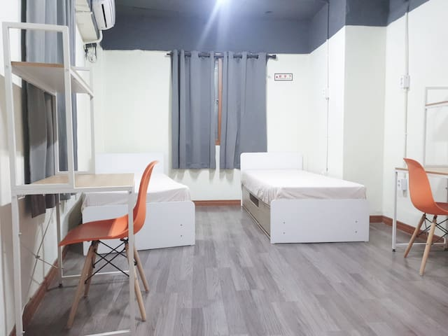 Twin Room w/Bathroom @ Busan Station #203