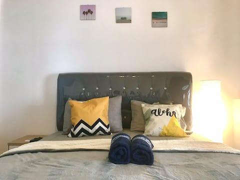 Strategic Bedroom with Cozy terrace