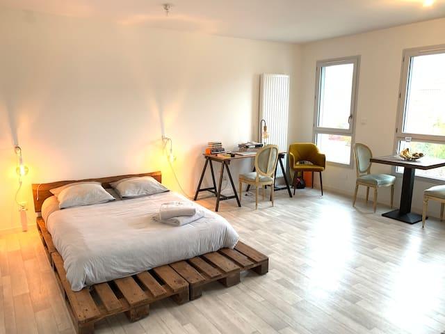 Magnifique studio, proche de La Rochelle
