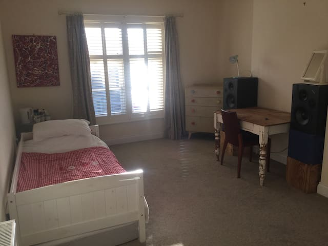 Single, central, spacious, ensuite in family flat - Lewes - Apartment