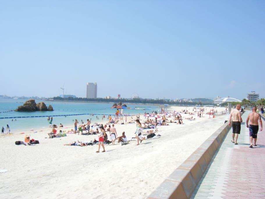 Araha beach seaside
