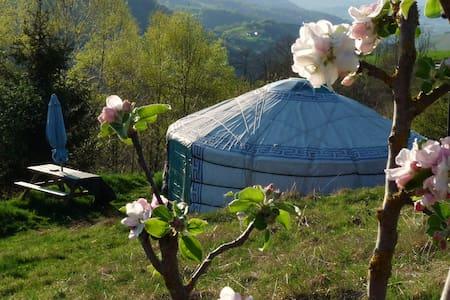 yourte mongole entre Lourdes et Bagnères-de B - Arrodets-ez-Angles - Rundzelt