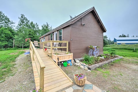 NEW! Historic Cottage on Horse Farm: FirePit & BBQ
