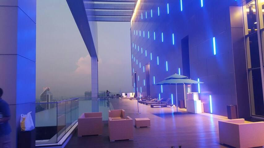Cozy apartment with sky pool! - Kuala Lumpur - Apartamento