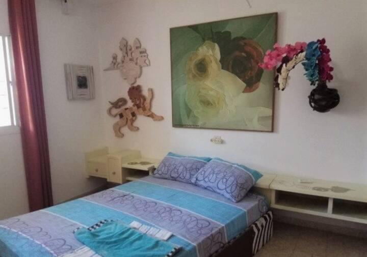 Room near to the beach