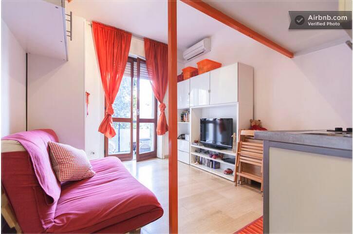Cozy studio apartment close to the city center - Mailand - Wohnung
