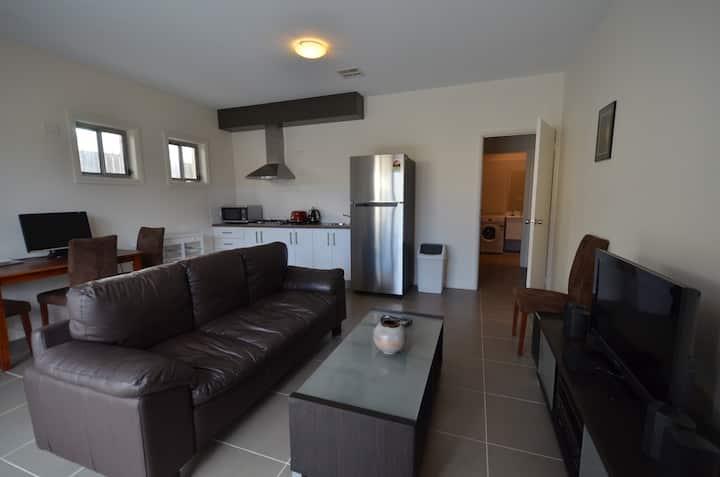 Modern apartment in a quiet suburb