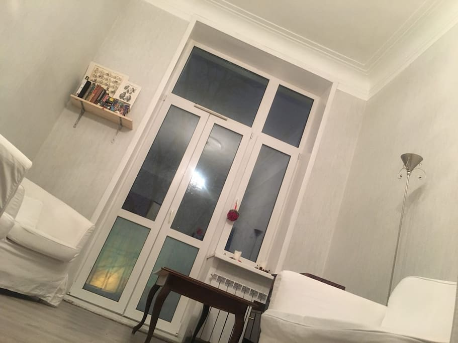 Room (with a balcony) 18 m / sofa
