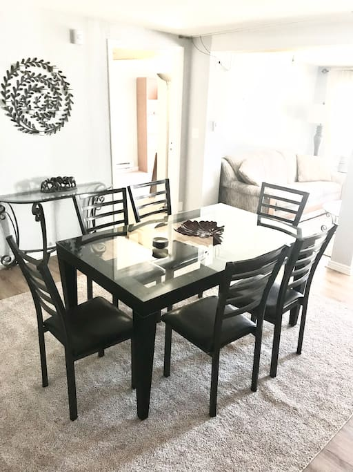 Dining table! Make yourself dinner and enjoy!