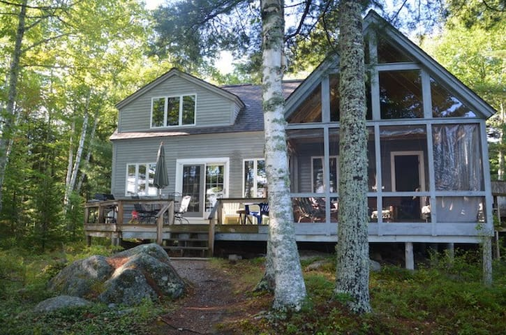Blue Hill, Toddy Pond Maine Home - Waterfront