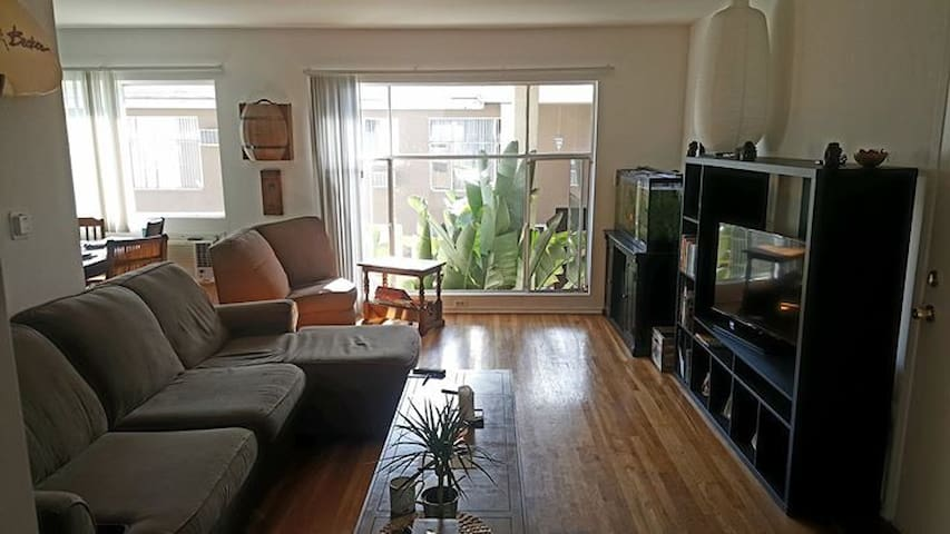 Bright 2 bed whole apartment. - Los Angeles - Leilighet