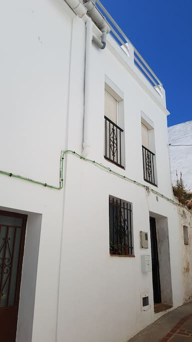 the house from outside