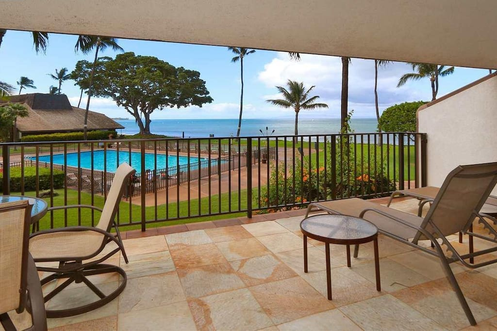 Amazing view from large private lanai