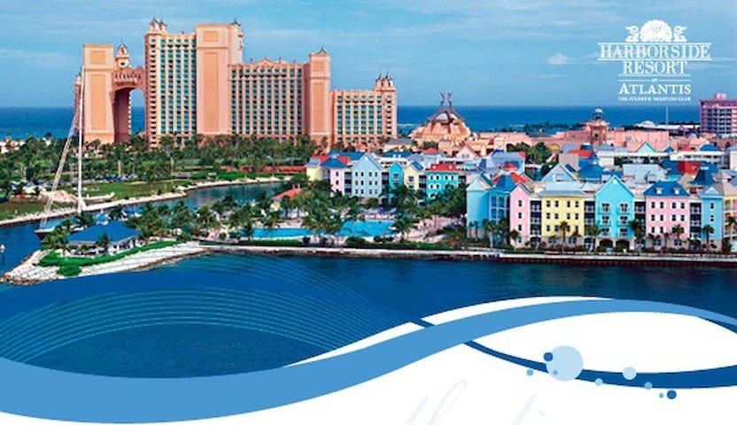Harborside Resort at Atlantis, Bahamas 3/28-4/4/20