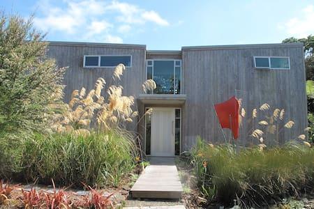 Sunny Modern Muriwai Beach Home - Haus