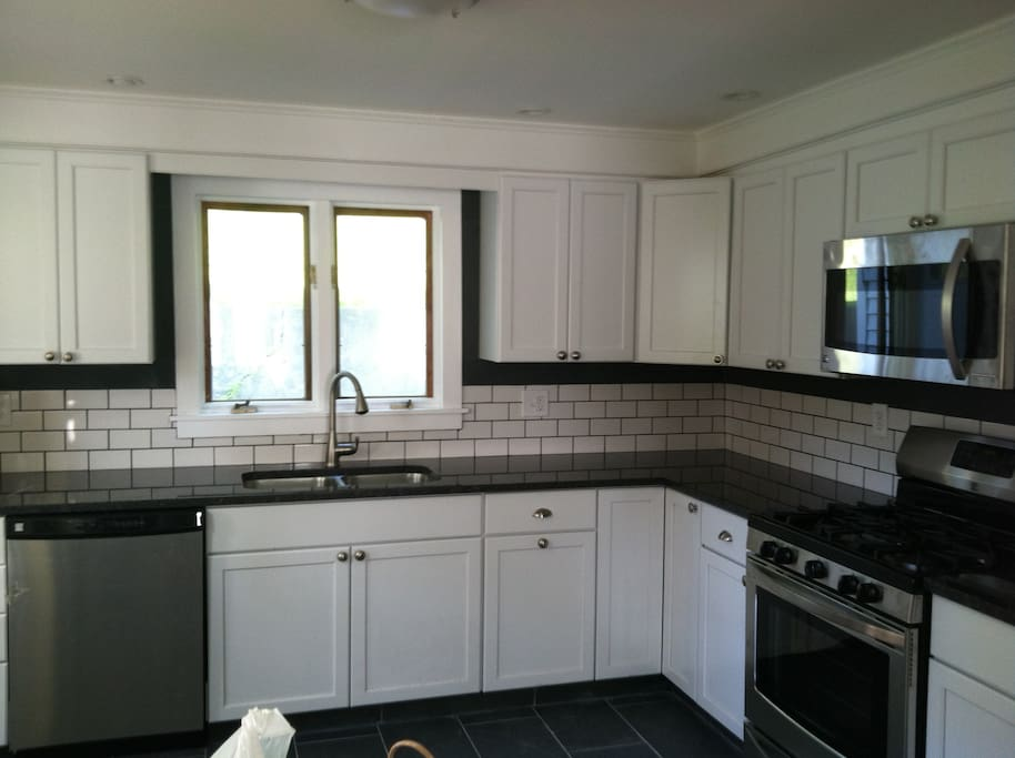 Kitchen remodeled in 2015.
