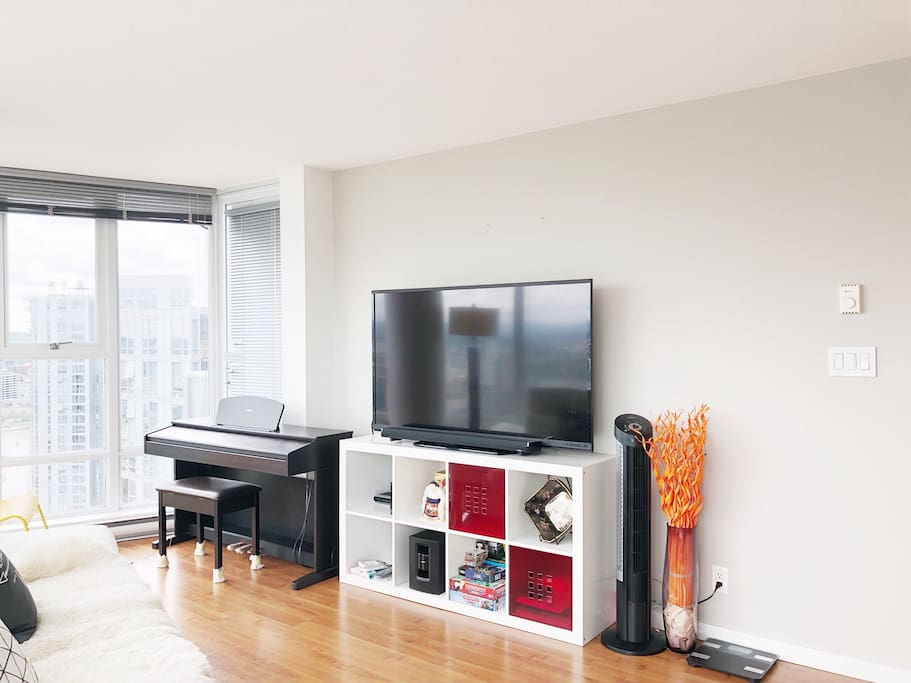 """60"""" HD TV with Netflix Installed"""