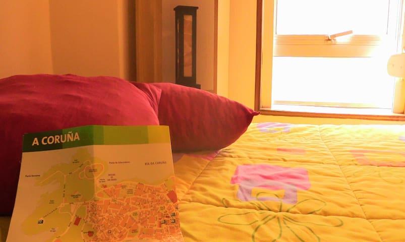 PlayaDesayuno CenterBeach w/brkfast - A Coruña - Apartment