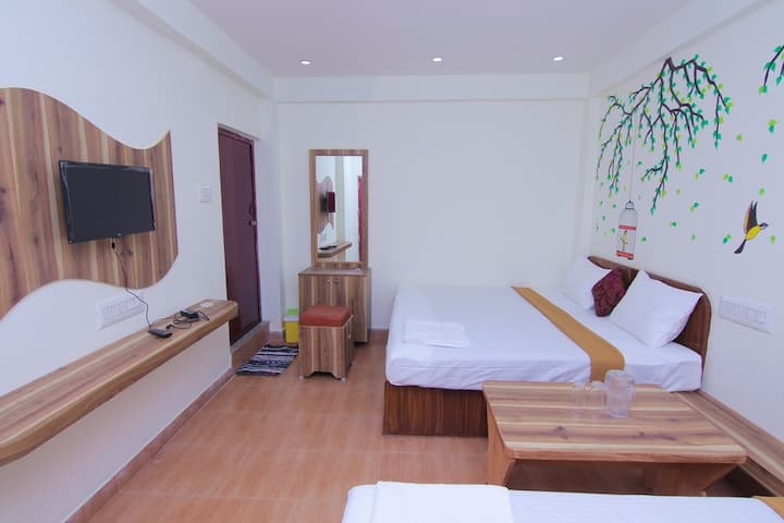 Family Deluxe Room with Mountain View at Kolli Hills Tamilnadu